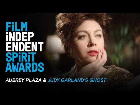 Aubrey Plaza Meets The Ghost Of Judy Garland | 35th Film Independent Spirit Awards