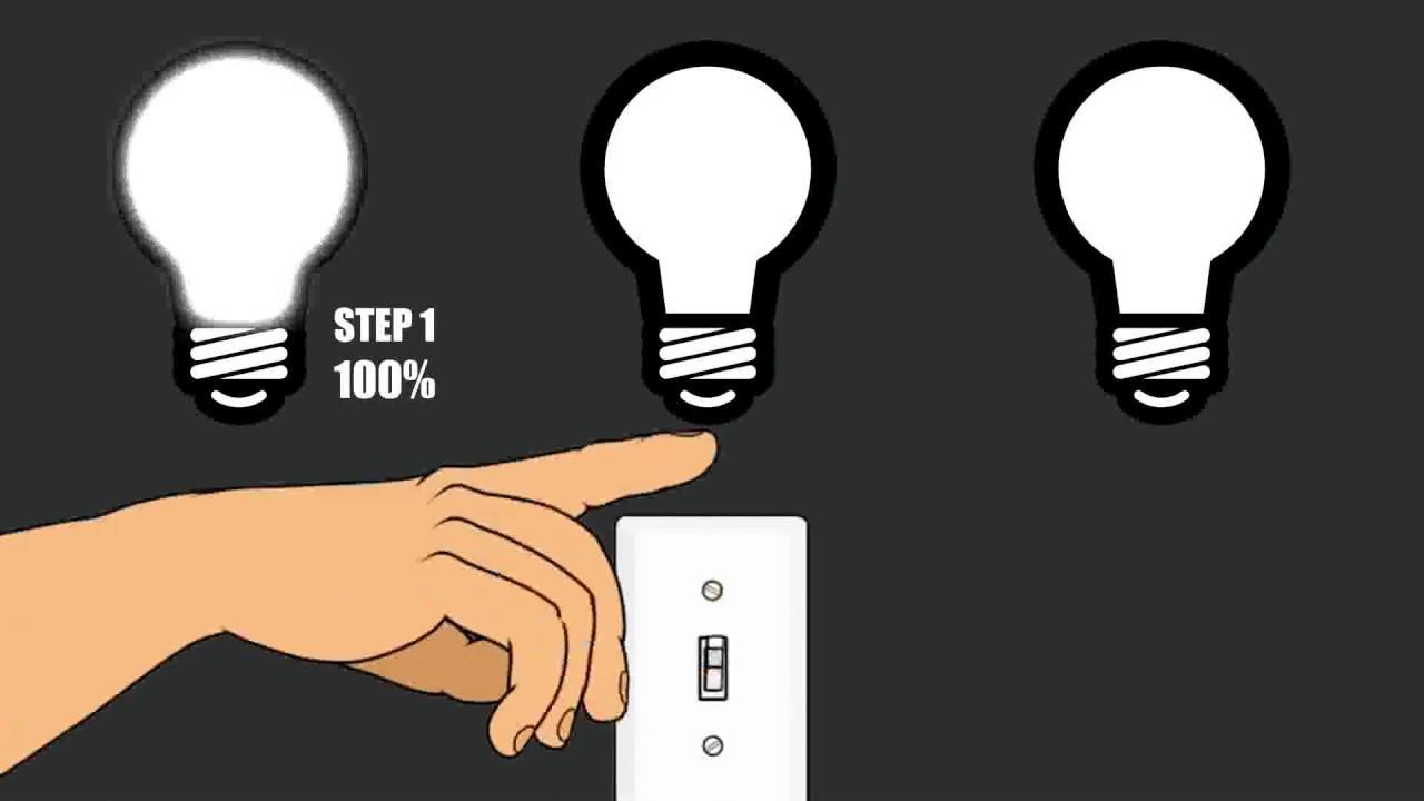 v tac 3 step dimming bulb [ 1280 x 720 Pixel ]