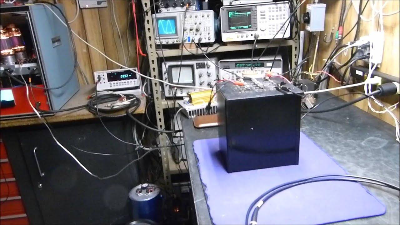 Update #1: 813 Vacuum Tube Push Pull Hi-Power Audio Power Amplifier Project