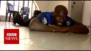 Zimbabwe's breakdance king who uses a wheelchair - BBC News