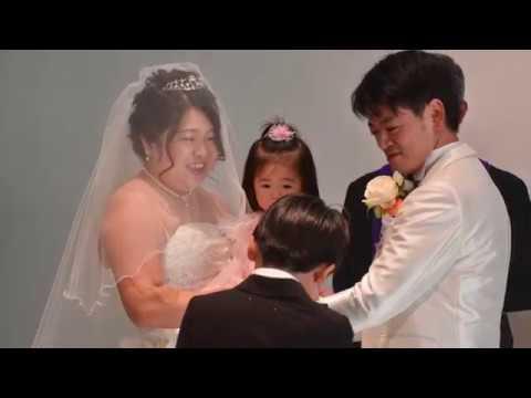 中原新・香織結婚式