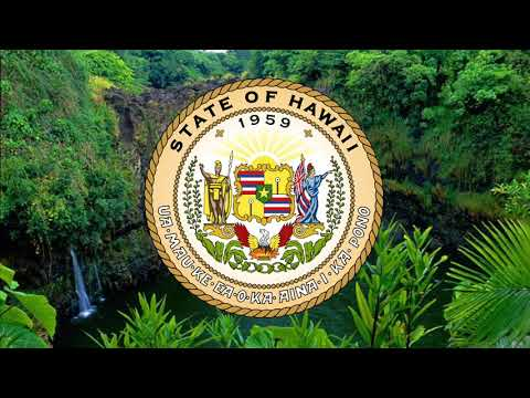 "Anthem of Hawaii  (USA) Hawaiʻi ponoʻī"","