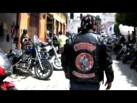 MEXICAN MOTORCYCLE GANGS TAKE OVER TOWN