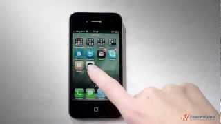 видео Как поменять цвет экрана ios