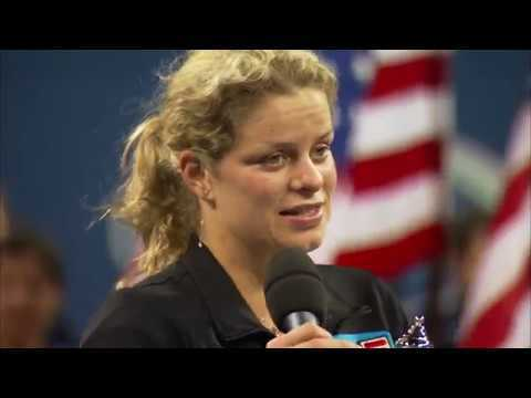 Kim Clijsters Inducted to the International Tennis Hall of Fame