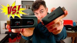 H96 Pro TV Dongle VS Amazon Fire stick!