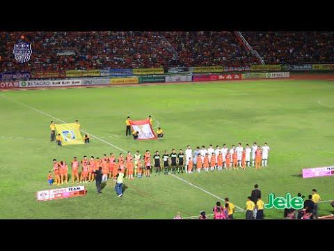 ไฮไลท์ TOYOTA THAI LEAGUE 2016 ศรีสะเกษ เอฟซี 2-2 บุรีรัมย์ ยูไนเต็ด และสัมภาษณ์หลังเกม