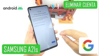 Eliminar Cuenta de Google Samsung Galaxy A21s | Android 10