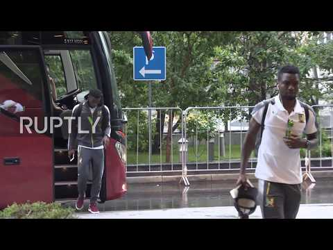 Russia: Cameroon football team arrives in Moscow ahead of ma