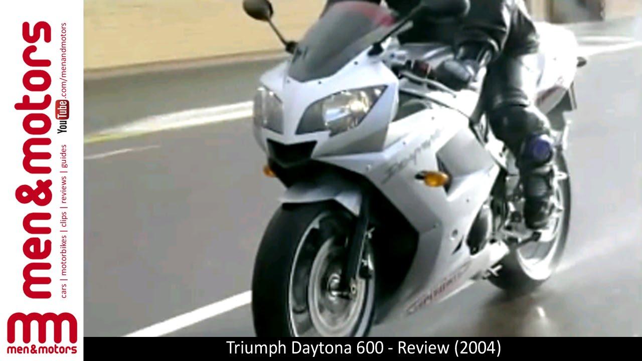 Triumph Daytona 600 Review 2004 Youtube