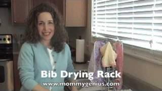 Bib Drying Rack by Mommy Genius