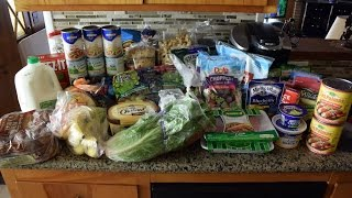 Grocery Haul And How I Save 50% Off On Groceries!
