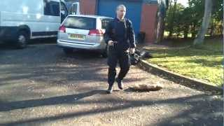 West Midlands Police Dog Training