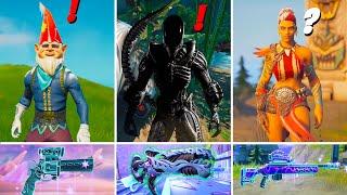 Fortnite Alien Update: AĮl New Exotics Weapons Changes & New Boss Alien Xenomorph Predictions!
