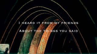 The Things You Said - Lyrics Video - Angelzoom YouTube Videos