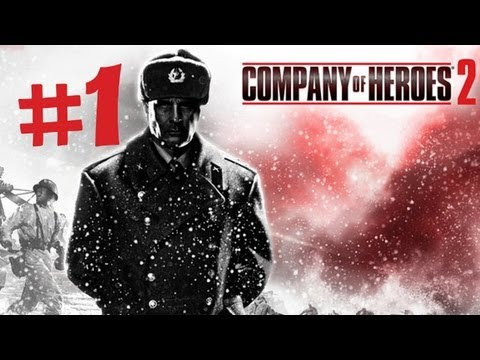Company of Heroes 2 Walkthrough Part 1 - Battle of Stalingrad - Single Player Campaign