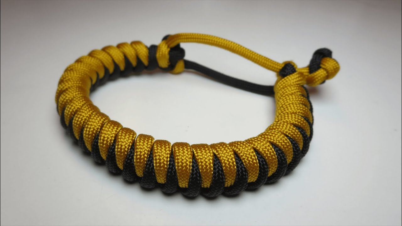 How To Make A Simple Paracord Bracelet With Buckle Howsto Co