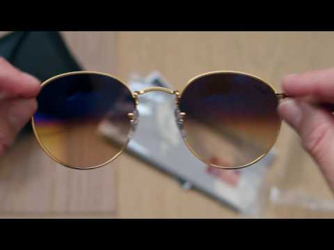 ee70b94fe2 Ray Ban Round Metal - YouTube