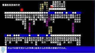 名鉄広見線  2度切り離しを行う列車 (各務原線迷列車 後編) 【名鉄13】