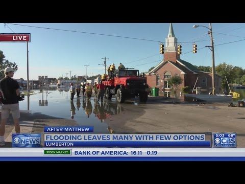 Flooding In Lumberton Affects Many