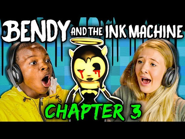 disney-nightmare-bendy-and-the-ink-machine-chapter-3-teens-react-gaming