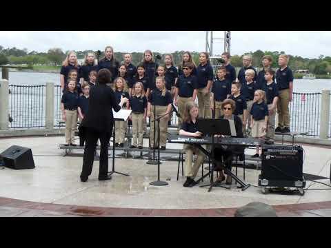 Michigan Avenue Elementary School Chorus 2018 at Disney World (2 of 2)