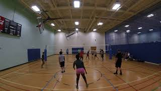June 4, 2018 Open Gym Volleyball Highlights