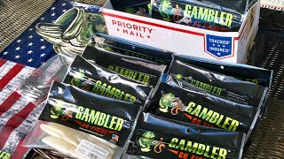 New Gambler Gear Up Swimbait Bag Review and a 7++ lb Big EZ Bass!