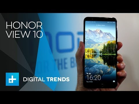 Honor View 10 – Hands On Review