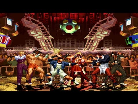 King of Fighters '97 Party 4v4 Patch MUGEN...