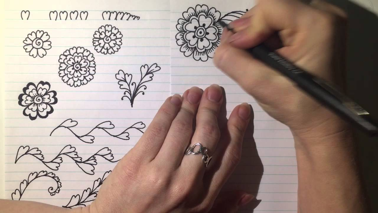 Mehndi Designs Alphabets : Beautiful trendy mehndi tattoo alphabet s pinky vlogs