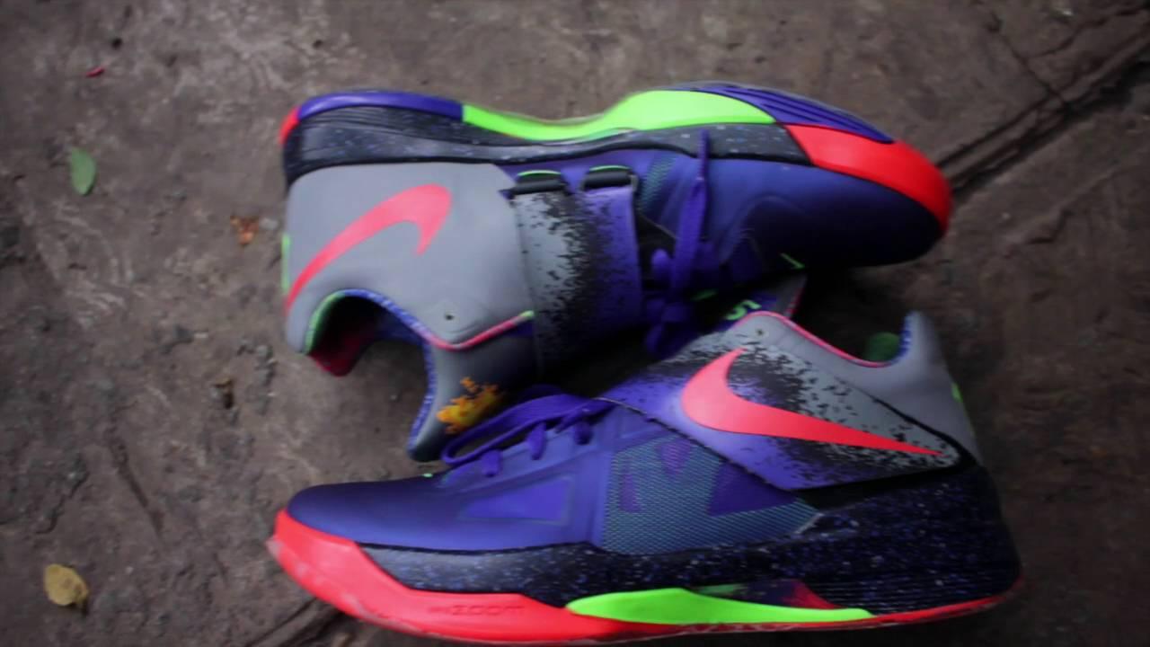 quality design f6d08 93e17 Nike kd iv nerf - YouTube