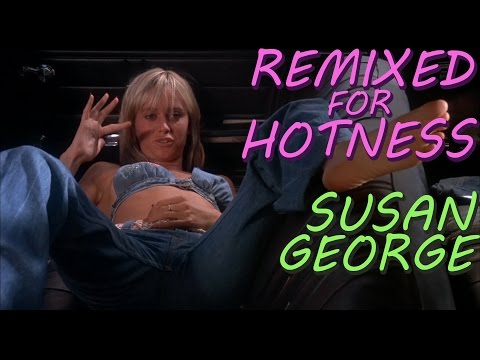 Susan George in a tiny top: Dirty Mary Crazy Larry  Remixed for Hotness