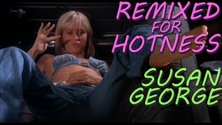 Susan George in a tiny top: Dirty Mary Crazy Larry | Remixed for Hotness