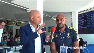 Una virata per Quadarella: Christian Minotti al Salotto Acquatico di Swimbiz