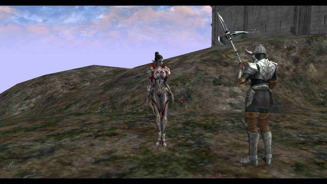 Lineage 2 Female Dark Elves In - Exploring Mars