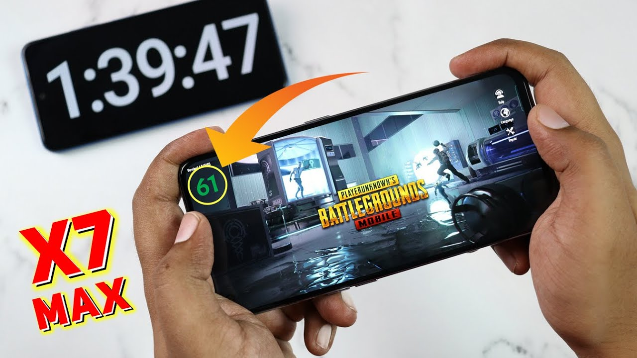 Realme X7 Max PUBG Test with FPS | Extreme Performance Test 🔥🔥