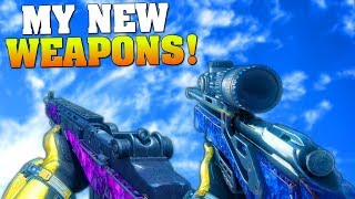 FIRST TIME USING THE M14 AND DRAGOON! (I FINALLY HAVE MERCH!) BO3 New Weapons & Gear Gameplay!