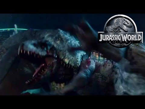 Download Youtube: How Will The Mosasaurus Survive? - Jurassic World Mosasaurus - Only The Strongest Survive