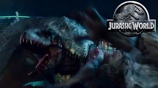 connectYoutube - How Will The Mosasaurus Survive? - Jurassic World Mosasaurus - Only The Strongest Survive