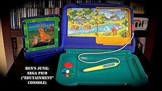 """Oddity Archive: Episode 163.75 – Ben's Junk: Sega Pico (""""Edutainment"""" Console)"""