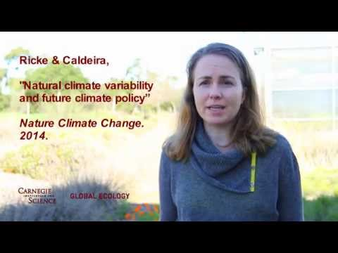 Natural climate change variability and future climate policy: Dr. Katharine L. Ricke