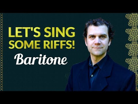 Let's Sing Riffs - Singing Warm Up - Bass Baritone