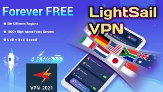 LightSail VPN, unblock websites and apps for free screenshot 3