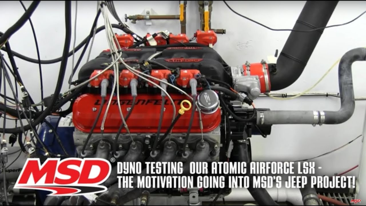 msd s project jeep lsx engine dyno test msd performance ignition [ 1280 x 720 Pixel ]