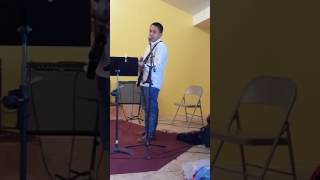 Josiah singing We're gonna Fly - Glory Road Ministry - 4/2/17 Video
