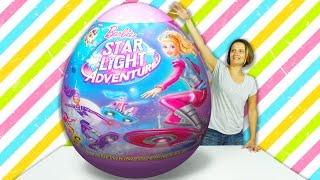 Barbie DEV Sürpriz Yumurta Açma | Evcilik TV Çizgi Film Barbie Oyuncakları ve daha fazlası