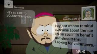 South Park S20E02: Skanhunt_42 in action, trolls women