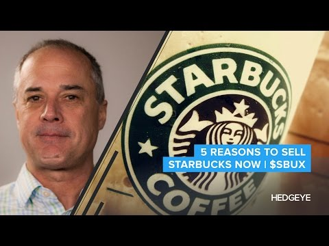 5 Reasons To Sell Starbucks Now | $SBUX