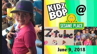 Kidz Bop Concert at Sesame Place June 9, 2018